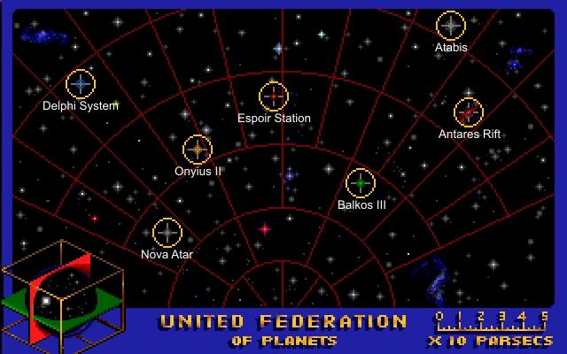 Star Trek Judgment Rites Star Map Screenshot Dj Oldgames