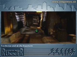 Urban Runner: Lost in Town - Start game in the basement...