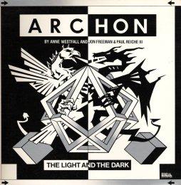 Archon Cover - Front (Commodore 64)