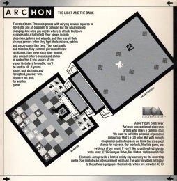 Archon Cover - Middle (Commodore 64)