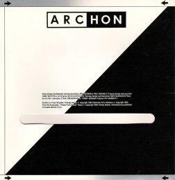 Archon Cover - Back (Commodore 64)