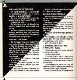 Archon Cover - Inside Front (Commodore 64)