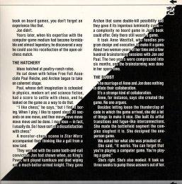 Archon Cover - Inside Back (Commodore 64)