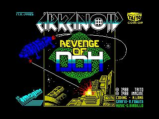 Play online Arkanoid II for ZX Spectrum 128k