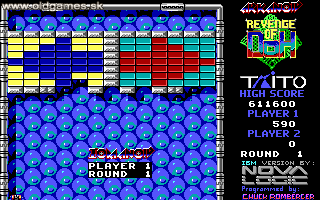 Arkanoid 2: Revenge of Doh - PC DOS, Level 1