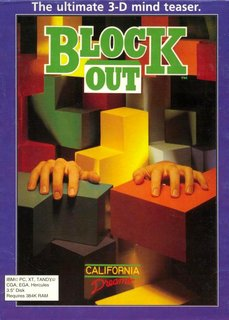Blockout - Box scan - Front