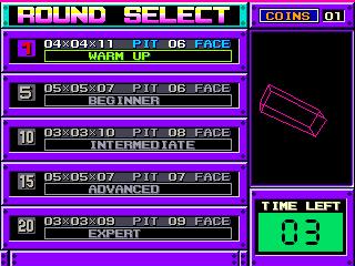 Arcade, Round