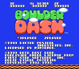Play online - Boulder Dash (NES)