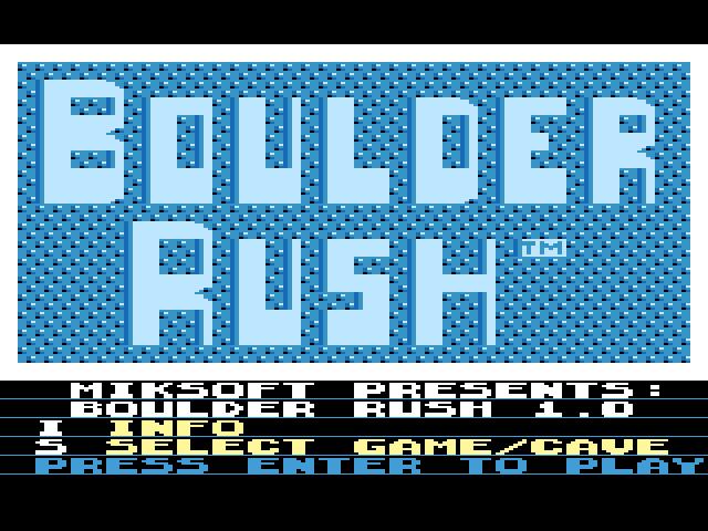 BoulderRush - 20 dílů v jednom a editor k tomu