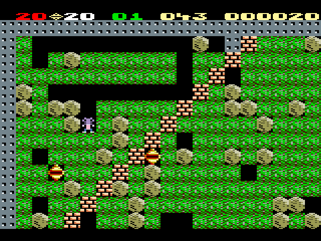 BoulderRush - Gameplay