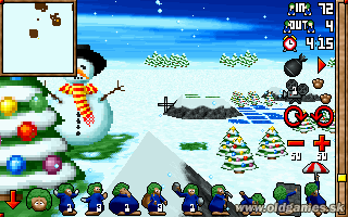 Lemmings 3D Winterland -