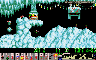 Holiday Lemmings (Xmas Lemmings) '91 -