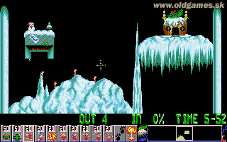 Holiday Lemmings '93 -