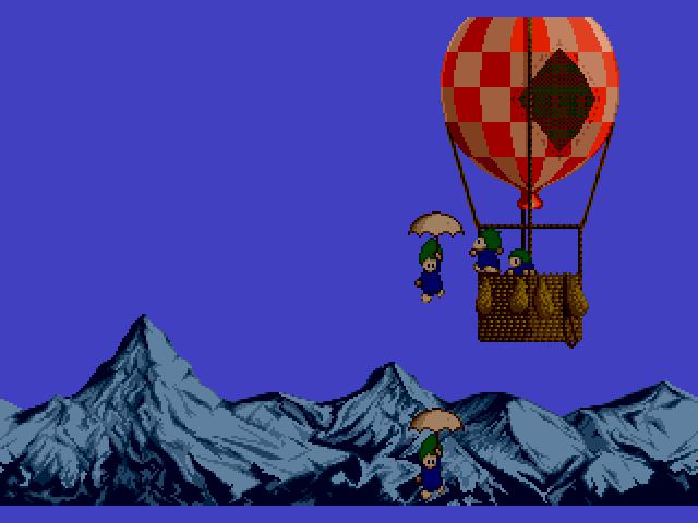 Sega MegaDrive, Intro