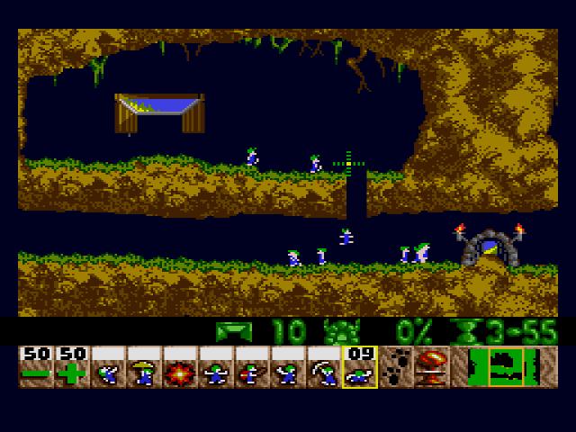 Sega MegaDrive, Level 1