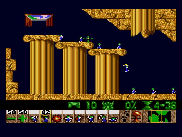 Sega MegaDrive, Level 2
