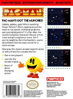 Cover Back - Namco