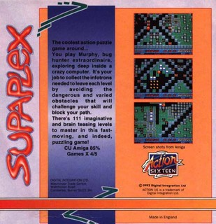 Supaplex 2 - Box scan - Back