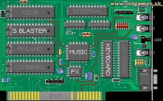 PC DOS, Sound settings