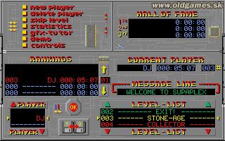PC DOS, Main menu