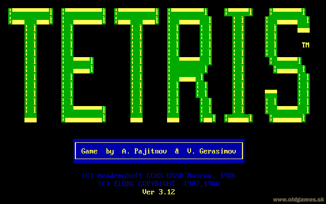 DOS v3.12, Title