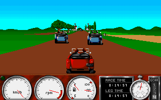 1000 Miglia - PC, Gameplay