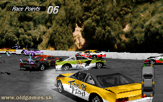Destruction Derby - PC DOS
