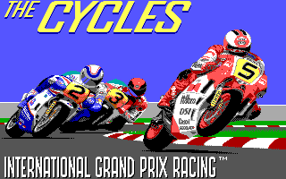 Play Cycles online for DOS