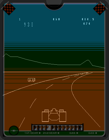 Vectrex, Gameplay (with Overlay)