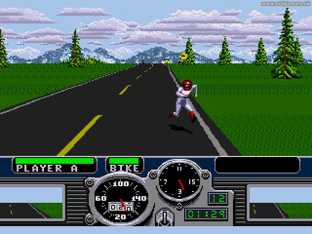 Genesis, Running to get bike