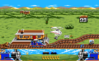 Thomas the Tank Engine & Friends - DOS, Gameplay