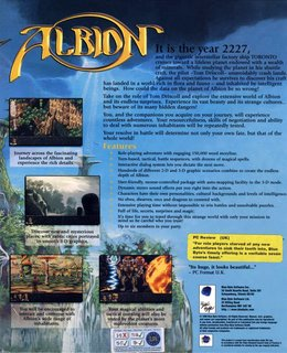 Albion - Box scan - Back