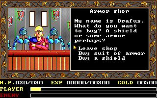 DOS, Armor Shop
