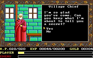 DOS, Village Chief