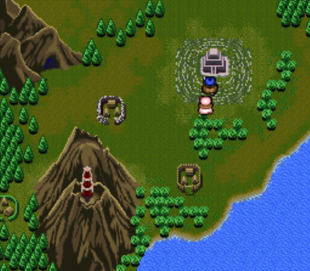 Automatický přesun do nové lokace skrze mapu