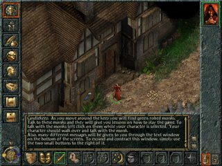 Baldur's Gate - PC Windows, Start game...