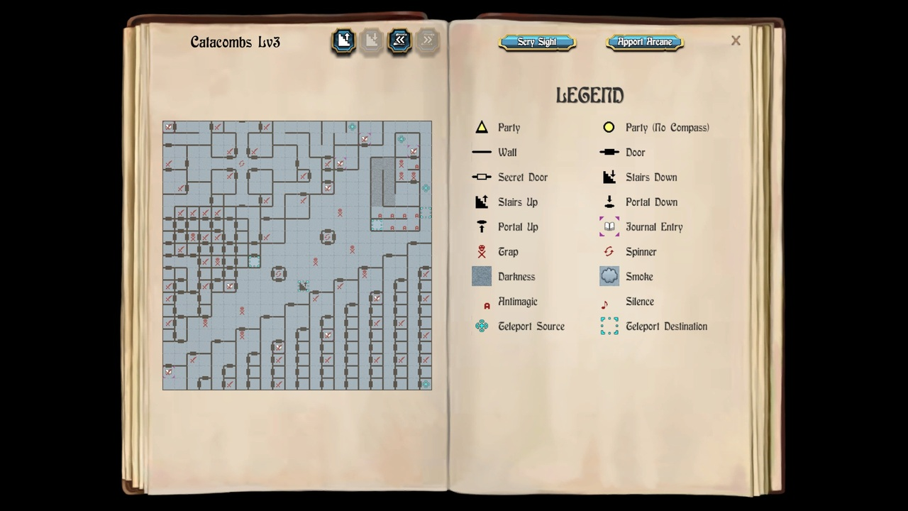 Map - Catacombs Lvl3
