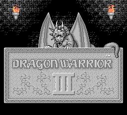 Play online - Dragon Warrior III (NES)
