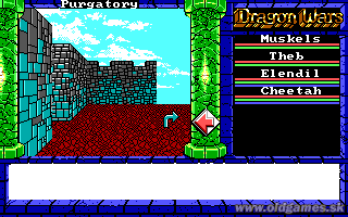 Dragon Wars - PC, Exploring Purgatory...
