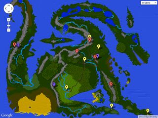 Dragonflight Interactive World Map