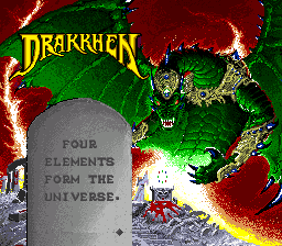 Play online Drakkhen for SNES