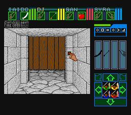 SNES, Gameplay - Opening the Door