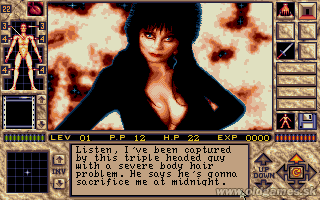 Elvira 2: The Jaws of Cerberus - PC DOS