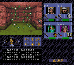 SNES, Teleport (R.A.T.S.)