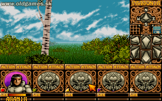 Ishar: Legend of the Fortress - PC DOS