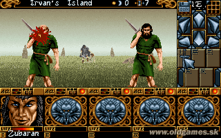 Ishar 2: Messengers of Doom - PC, First battle with Bandits...
