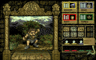 Knightmare - Amiga, Gameplay
