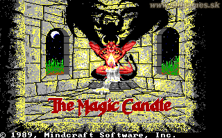 Magic Candle, The - PC DOS, Title