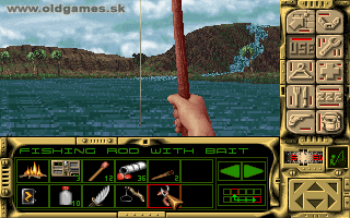 Robinson's Requiem - PC DOS, Fishing...