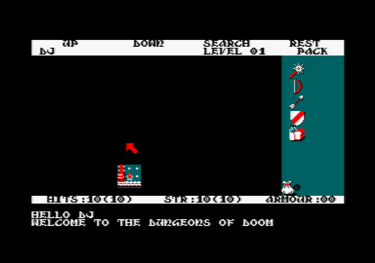 Amstrad CPC, Start game...